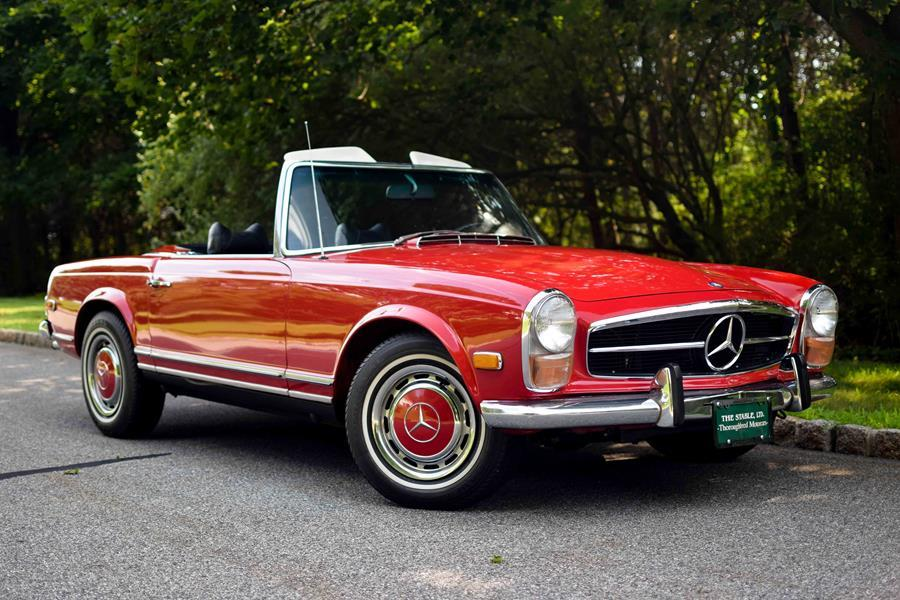 1970Mercedes-Benz280SLRed